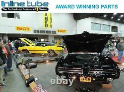 1964-77 GM 10 12 bolt Rear Axle End Disc Brake Conversion Kit Slotted ROTORS