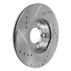 Front+Rear Brake Rotors And Ceramic Pads For 2006 2007 2017 Dodge Ram 1500