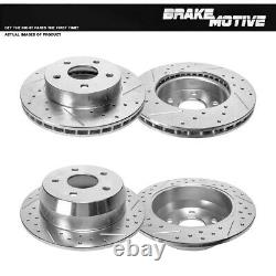 Front+Rear Brake Rotors For 1999 2000 2001 2002 2003 2004 Jeep Grand Cherokee