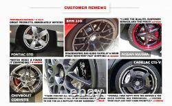Front+Rear Drill Slot Brake Rotors +Ceramic Pads For Charger Challenger Magnum