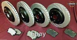 Hsv Ve Clubsport R8 Gts Maloo Complete Brake Package Rotors & Pads Front + Rear