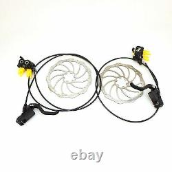 Magura MT5 4-Piston Hydraulic Post Mount Disc Brake with rotor Pair or Front/Rear
