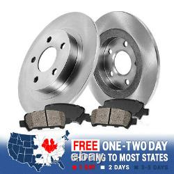 Rear 291mm Brake Rotors And Ceramic Pads For Nissan Altima Juke Maxima Sentra