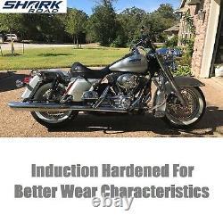 11.5 Rotors De Frein 1 Avant Et 1 Rotor Arrière Super Spoke Ss Disc Pour Harley Touring