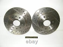 Ford 9 Inch Arrière Disc Brake Conversion Kit Foré & Slotted Rotors Ford Cars