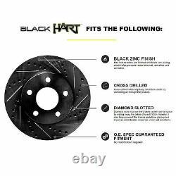 Kit Complet Black Hart Perceuse / Patins De Frein Et Tampons