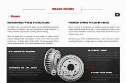 Rotors De Frein Avant + Coussinets En Céramique Tambours De Frein Arrière + Chaussures Pour Chevy S10 Sonoma