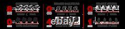 Rotors De Frein Avant+arrière + Plaquettes En Céramique Pour 2010 2011 2012 2015 Chevy Camaro Ss