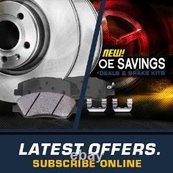 Routeurs De Frein Avant Et Arrière + Pads En Céramique Pour Vw Volkswagen Beetle Golf Jetta