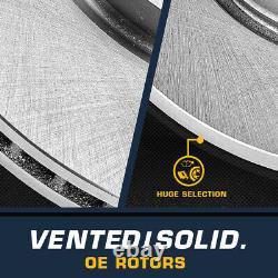 Routeurs De Freins Avant Et Arrière Et Plaquettes En Céramique Pour 2004 2005 2006 2007 2008 Ford F-150