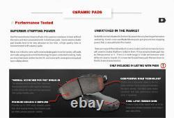 Routeurs De Freins Avant Et Arrière Et Plaquettes En Céramique Pour Nissan Pathfinder 2005 2012