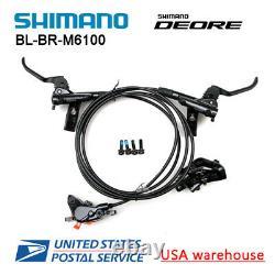 Shimano Deore Br-bl-m6100 Vélo Mtb Ensemble De Freins À Disques Hydrauliques F&r M6000 (oe)